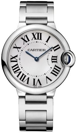 (VIDEO Review) Cartier Midsize W69011Z4 Ballon Bleu Stainless Steel Watch