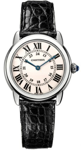 (VIDEO Review) Cartier Ronde Solo Ladies Steel Watch W6700155