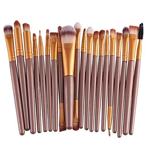 Top Best 5 makeup brushes rose gold set for sale 2016
