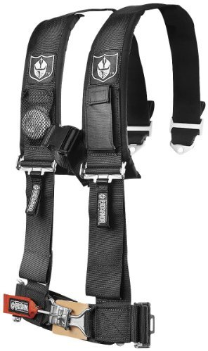 Simpson Racing 29061BK Latch and Link 62 Black Pull Up Bolt-in Individual 5-Point Harness System