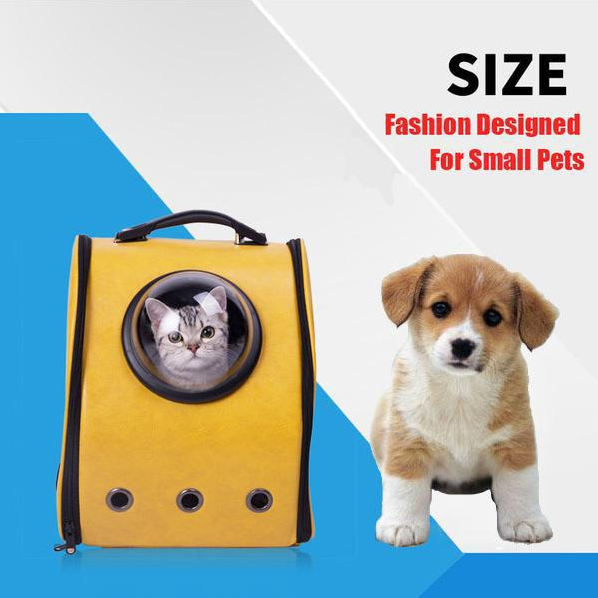 Space Cabin Pet Carrier Breathable Dog Carrier Backpack