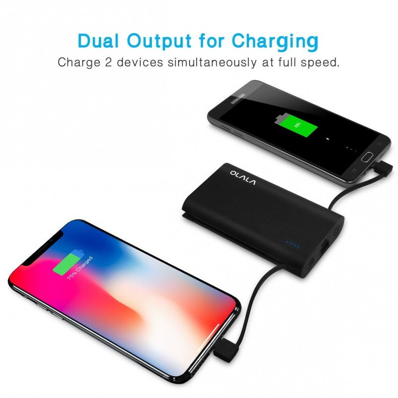 (VIDEO Review) [Apple MFi Certified] OLALA S70-i 7800mAh Ultra-Compact Portable Charger