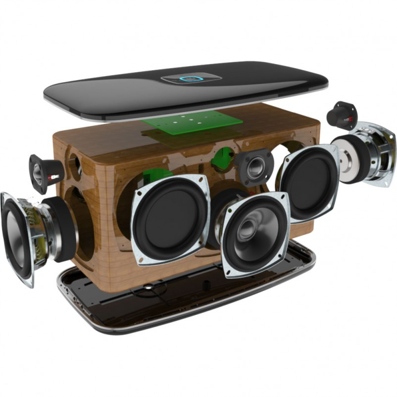 RIVA RWF01B Festival Wireless Multi-Room Speaker