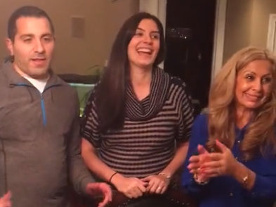 Pregnant Couple Pranks Whole Family During Gender Reveal Party