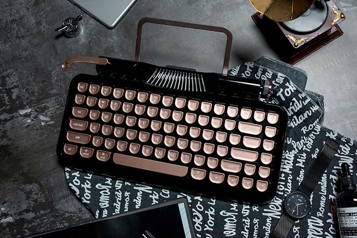 Rymek Retro Bluetooth Mechanical Keyboard