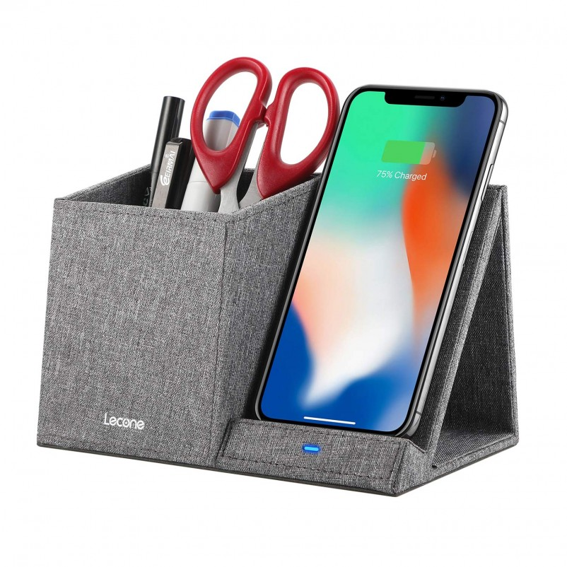 Lecone 10W Fast Charger with Desk Organizer