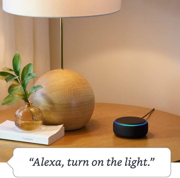 Amazon Echo dot, one of Amazon's leading smart speakers