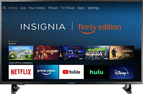 Insignia NS-32DF310NA19 32-inch 720p HD Smart LED TV- Fire TV Edition