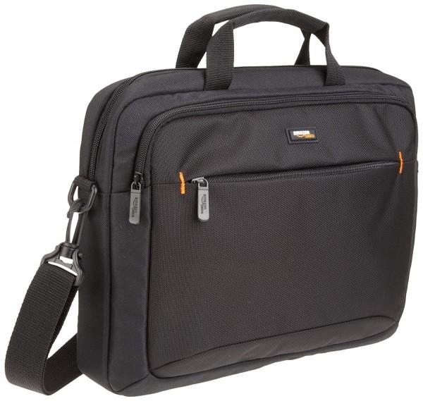 AmazonBasics 14-Inch Black Laptop Shoulder Bag
