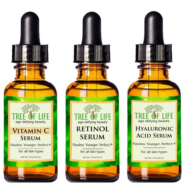 Anti-Aging Serum 3-Pack for Face
