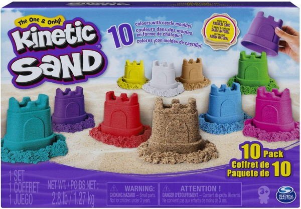 Kinetic Sand with Castle Containers