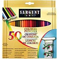 Sargent Art Premium Coloring Pencils Pack of 50