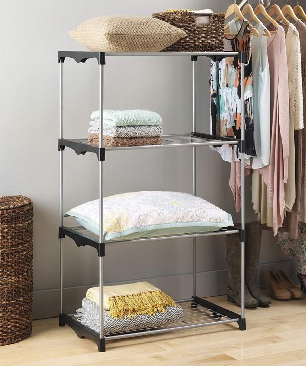4 Tier Shelf Tower by Whitmor