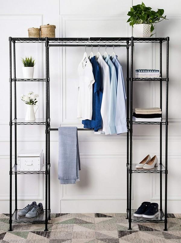 Expandable Closet Organizer by AmazonBasics