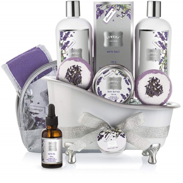 Lovery Lavender Bath Gift Set