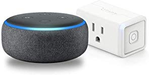 Echo Dot 3rd Gen Charcoal Bundle with TP-Link