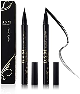 Waterproof Liquid Eyeliner Long Lasting  & Smudge Proof DSM