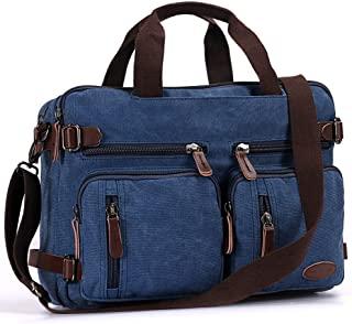 Laptop Backpack, Multifunction Briefcase Messenger Bag 15.6 Inch