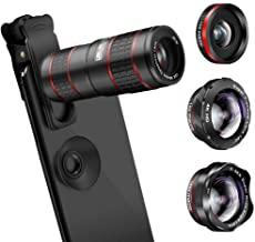 Phone Camera Lens 5 in 1 Cell Phone Lens Kit