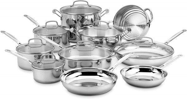 Cuisinart 77-17N 17 Piece Chef's Classic Set