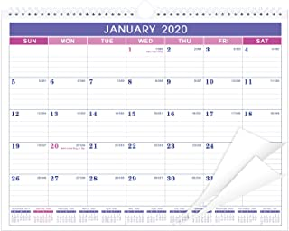 Calendar 2020 with Thick Paper