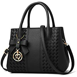 Purses and Handbags for Women Fashion Ladies PU Leather Top Handle Satchel