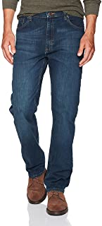 Wrangler Authentic Men's Classic 5-Pocket Regular Fit Flex Jean