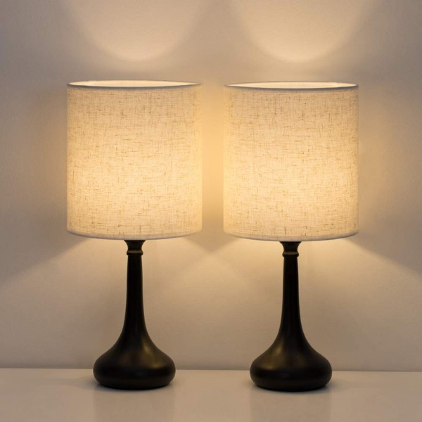 HAITRAL Bedside Table Lamps
