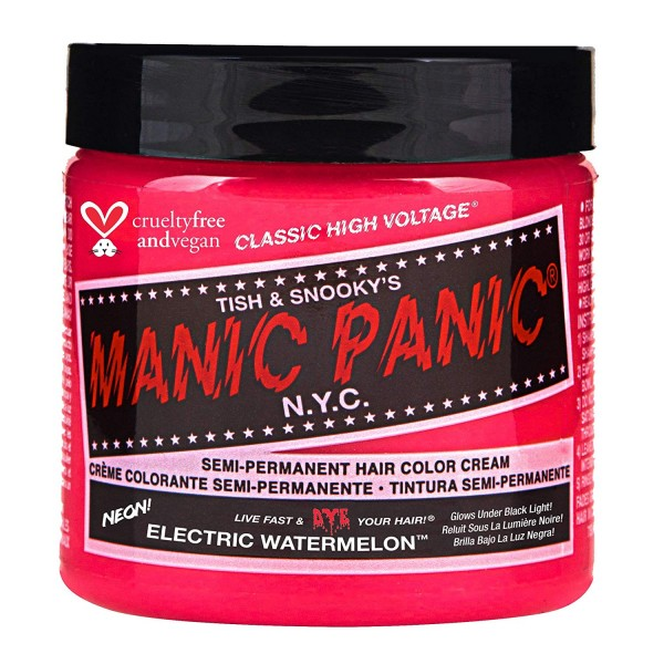 Manic Panic Electric Watermelon Pink Hair Dye