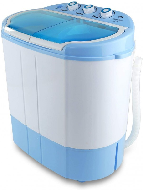 Upgraded Version Pyle Portable Washer & Spin Dryer