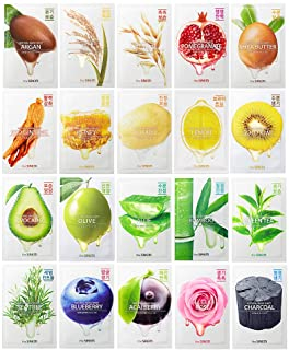 [the SAEM] Natural Facial Mask Sheet 21ml Combo Set (20 Pack)