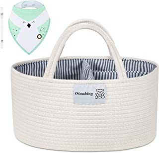 DINNKING Baby Diaper Caddy Organizer