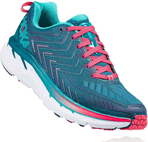 HOKA ONE ONE Women's Clifton 4 Running Shoe
