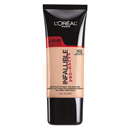 L'Oreal Paris Infallible Pro-Matte Liquid Longwear Foundation Makeup