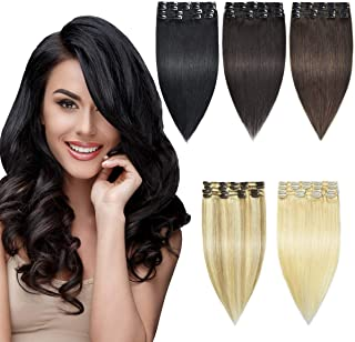 HAIRREAL Clip In Hair Extensions