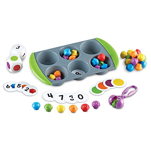 Learning Resources Mini Muffin Match Up Counting Toy Set