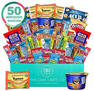 The Care Crate Co. Microwave Snack Care Package