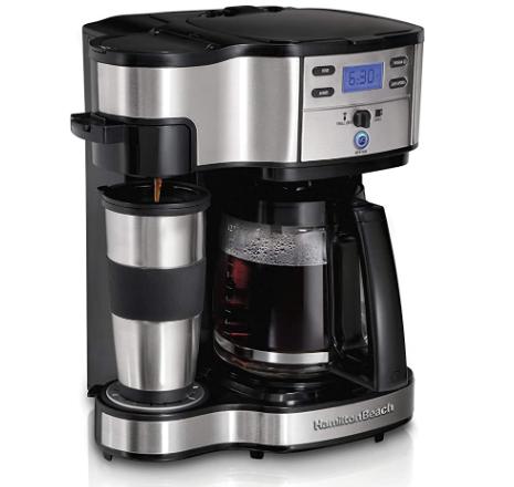 Hamilton Beach 2-Way Brewer Coffee Maker, Single Serve and 12-Cup Pot
