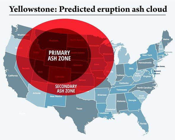 Yellowstone Prediction Map