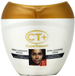 CT+ Clear Therapy Extra Lightening Cream with Plant Extracts 400mL