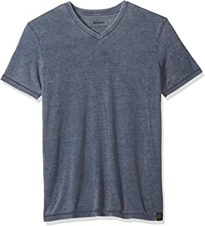 Lucky Brand Men's Venice Burnout V-Neck Tee Shirt