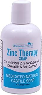 DermaHarmony 2% Pyrithione Zinc Liquid Castile Soap