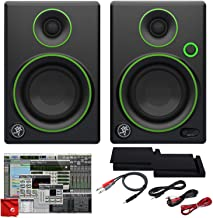 Mackie 3-Inch Creative Reference Multimedia Monitor Bundle with Foam Isolation