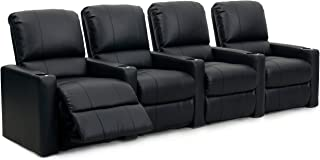 Octane Seating Charger Leather Home Theatre Recliner Set