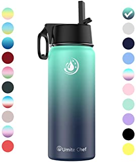 Umite Chef Water Bottle Vacuum Insulated Wide Mouth