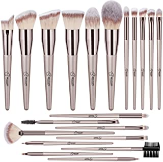 BESTOPE 20 Pieces Makeup Brushes Premium Synthetic