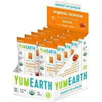 YumEarth Organic Gluten Free Licorice Peach