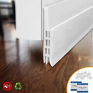 BAINING Door Draft Stopper Door Sweep for Exterior/Interior Doors