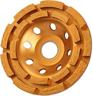 KSEIBI Double Row Diamond Cup Grinding Wheel