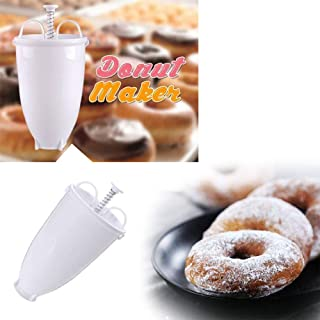 Homefami Plastic Donut Maker Machihne Mold DIY